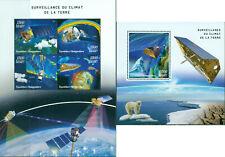 Climate Changer Satellites Espace Polar Ours MNH Timbres Ensemble