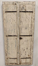 old used Vintage wooden doors window shutter reclaimed doors 2