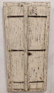 old used Vintage wooden doors window shutter reclaimed doors 2