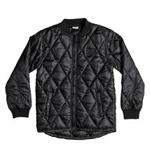MENS DC Shoes Mens Bombing Poly Filled Nylon Fullzip Bomber Casual Jacket SM S