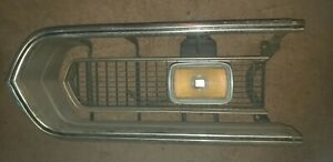 1967 67 Plymouth Barracuda Grille Left Hand Factory Original OEM