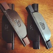 Olvossa Leather Blinkers Horse Pony Showjumping