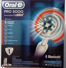 BRAUN ORAL B PRO 5000 ELECTRIC TOOTHBRUSH. BRAND NEW!