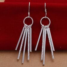 beautiful Fashion Silver plated  wedding women pretty charm Earring Jewelry hot