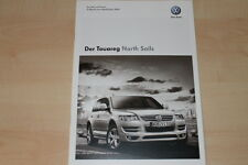 77175) VW Touareg North Sails - Technik & Preise & Extras - Prospekt 11/2008