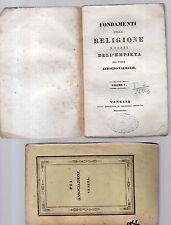 fondamenti della religione e fonti dell empieta'-p.antonino valsecchi -vol.quint