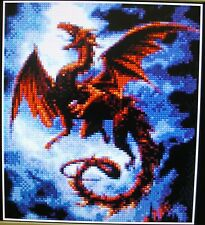 RED DRAGON ~ Counted Cross Stitch KIT #K150