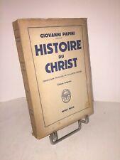 Histoire du Christ par Giovanni Papini | Payot 1946