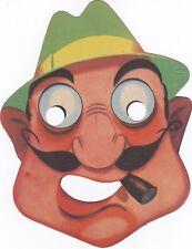 Maschera di CARNEVALE  (   M. 22  )  anni '60