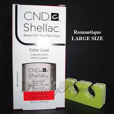 CND Shellac Romantique 0.5oz LARGE SIZE Gel Polish LED/UV New With Box +bonus!