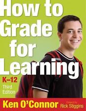 NEW BOOK! How to Grade for Learning, K-12 (2009, Paperback)