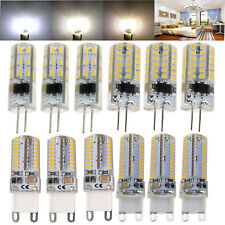 G4 G9 Silicone Crystal LED Corn Light Bulb 3W 5W 6W 10W 3014 SMD 110V 220V Lamp