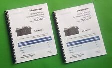 Laser 8.5X11 Panasonic Dmc-Gf7 Advanced Camera 358 Page Owners Manual Guide