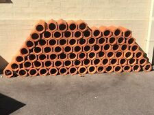 Terracotta Clay Water Pipes - Fantastic for Wine Storage / Wine Cellar