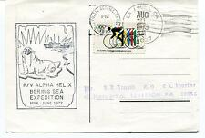 1972 R/V Alpha Helix Bering Sea Expedition La Jolla Polar Antarctic Cover