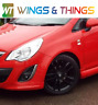 VAUXHALL CORSA D PASSENGER SIDE FRONT WING RED Z547 2006 TO 2014 FREE UK P&P
