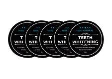 5x Carbon Coco Aktivkohle Zahnpolitur Whitening Zahnpasta weiße Zähne 30g