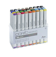 COPIC SKETCH MARKER - 36 PEN - BASIC COLOURS SET