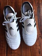 New Adidas Tkd Martial Arts Training Taekwondo Karate Mma Adi Shoes Size 11 1/2