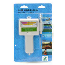 Swimming Pool Water pH&CL2 Chlorine Level Tester Spa Water Quality Monitor Test