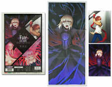 fate stay night heaven's feel Sports Houchi Special Newspaper Postcard Movie New