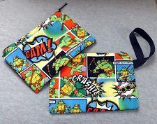 Teenage Mutant Ninja Turtle Clutch Bag Licensed Fabric TMNT