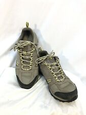 Columbia Sportswear HIKING SHOES Low Boots Women's Size 8 Lace up Gray EUC