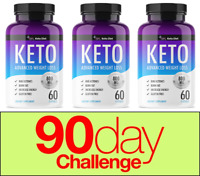 QFL Keto BHB Fast Weight Loss Diet Pills Ketogenic Supplement 180 CAPSULES