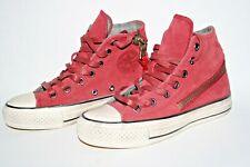 Converse x John Varvatos All Star Side Zip Burgundy Shoes Trainers 3 UK Unisex
