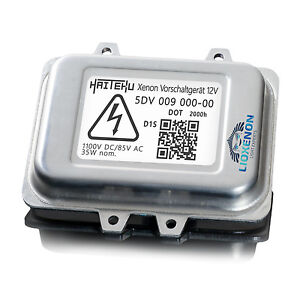 Haiteku 5DV 009 000-00 Xenon Headlight Control Unit / Ballast D1S D1R 12V 35W