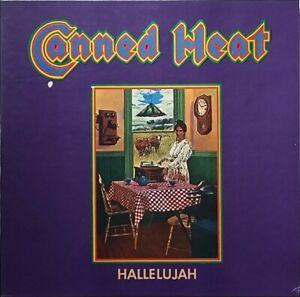 Canned Heat, Hallelujah Vinyl LP Gatefold Sleeve