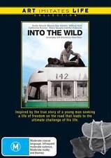 Into the Wild NEW DVD Emile Hirsch Kristen Stewart Vaughn (Region 4 Australia)