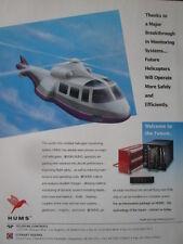 12/1992 PUB TELEDYNE CONTROLS STEWART HUGHES MONITORING SYSTEMS HUMS ORIGINAL AD