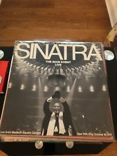 Frank Sinatra The Main Event Live from Madison Square Garden LP Album