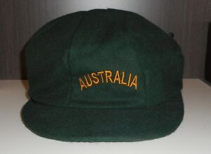 Australia Baggy Green Cricket Cap Hat - NEW - One size Fits All