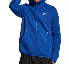 NWT NIKE NSW TECH FLEECE Indigo Force Blue Zip Hoodie Jacket 928483-438 men L