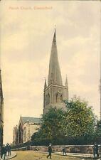 Chesterfield; Parish church; valentine's  1914