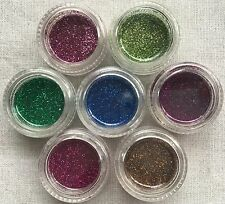 2 G BARATTOLO Glitter Set in 7 Colori Per Temporanei Glitter Body Art-NAIL ART