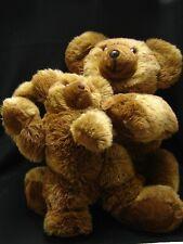 Teddybär Plüschbären Stoff Handarbeit Teddy Bear - Bären Paar Mutter mit Kind