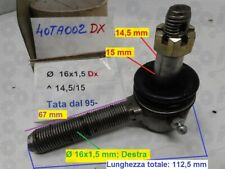 646 TESTINA SNODO BRACCIO STERZO DX CITROEN CX I CX I 1979-/>1980 ø14mm