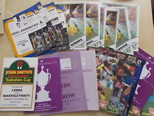 More details for job lot of 23 rugby league programmes all featuring leeds homes 1970s 80s & 90s