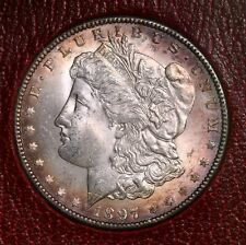 1897 Morgan $1 From Redfield Silver Dollar Collection Hoard
