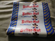 Vintage 1950s Original HOPALONG CASSIDY BUTTER-NUT Bread Wrapper 15' long piece