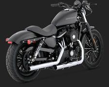 Vance & Hines 16819 Chrome Straightshots HS 2004-2013 Harley Davidson Sportster