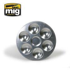 Ammo by Mig Aluminium Pallet (6 Wells) A.MIG-8008
