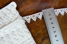 Guipure Lace OFF WHITE - 17mm wide 2 Metre Lengths - L36659 Astor Buttons