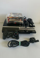 PlayStation 3 PS3 40GB Console Bundle - 5 Games - Controller - All Cables