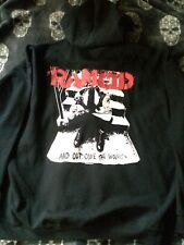 Rancid And Out Come The Wolves... Vintage ZIp Hooded Top 20 Years Down Tour 2012