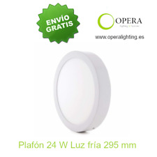 Plafon Superfície Circular 24w LED 6000k 295MM