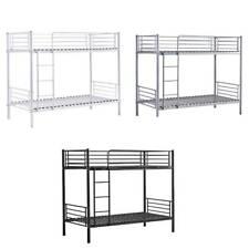 Bunk Bed Frame Single Bed Trundle Bed Sofa Bed Metal Bedroom Dorm Guest Room BN